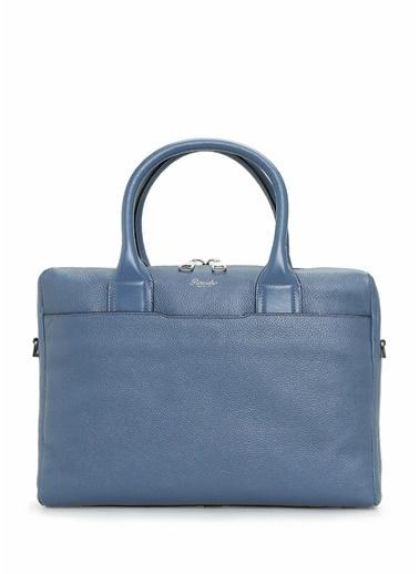 Pineider Laptop /Evrak Çantası Mavi